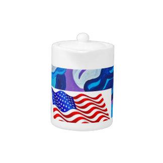 Bandera americana de la flecha