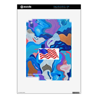 Bandera americana de la flecha skin para el iPad 2