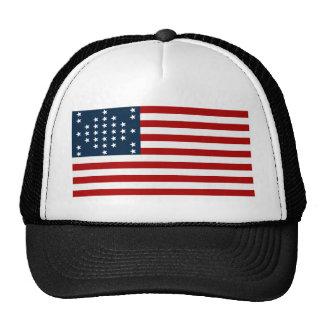 Bandera americana de la guerra civil de Sumter del Gorra