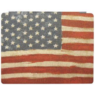 Bandera americana de la vieja gloria cover de iPad