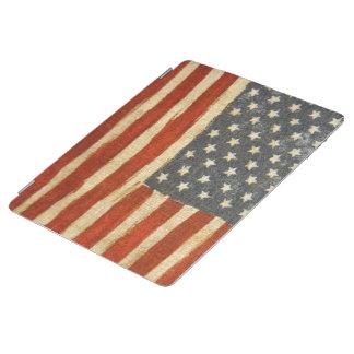 Bandera americana de la vieja gloria cubierta de iPad