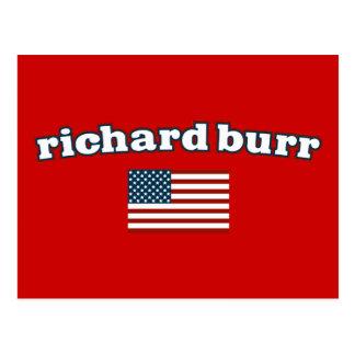 Bandera americana de las rebabas de Richard Postal