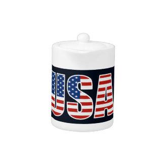 Bandera americana de los E.E.U.U. del personalizab