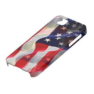 Bandera americana de los E.E.U.U. Funda Para iPhone SE/5/5s