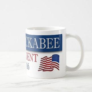 Bandera americana de Mike Huckabee 2016 Taza De Café