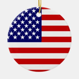 Bandera americana ornatos