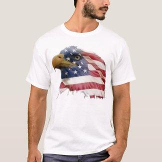 Bandera americana del águila calva playera