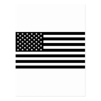 Bandera americana del apagón tarjetas postales