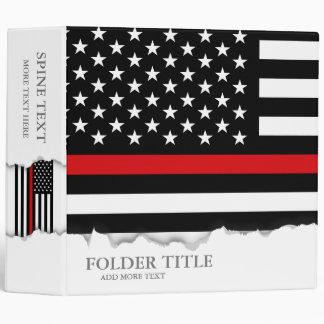 """Bandera americana del estilo patriótico del carpeta 2"""""""