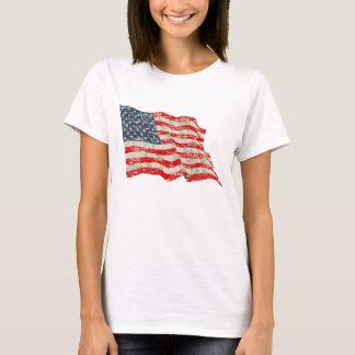 Bandera americana del Faded Glory Playera