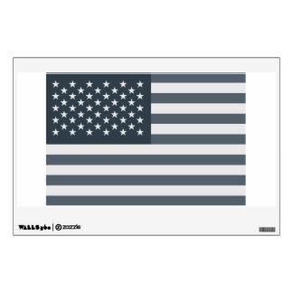 Bandera americana del Grayscale