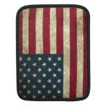 Bandera americana del Grunge Fundas Para iPads