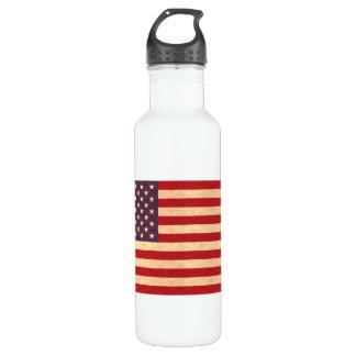 Bandera americana del modelo del vintage