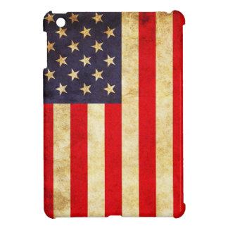 Bandera americana del vintage