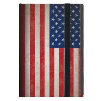 Bandera americana del vintage iPad mini coberturas
