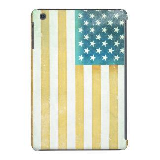 Bandera americana del vintage funda para iPad mini