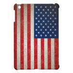 Bandera americana del vintage iPad mini carcasa