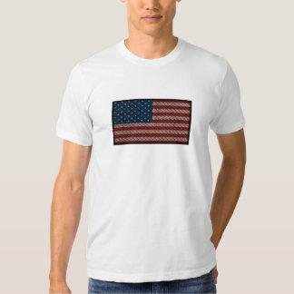 Bandera americana Diamondplate Poleras