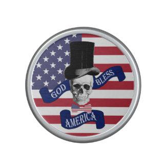 Bandera americana divertida