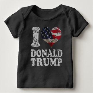 Bandera americana Donald Trump del corazón I Playeras