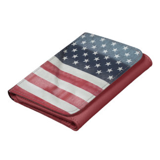 Bandera americana en el condado de Sussex justo