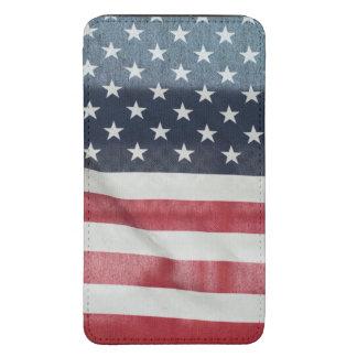 Bandera americana en el condado de Sussex justo Bolsillo Para Móvil