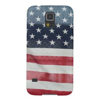 Bandera americana en el condado de Sussex justo Carcasas Para Galaxy S5