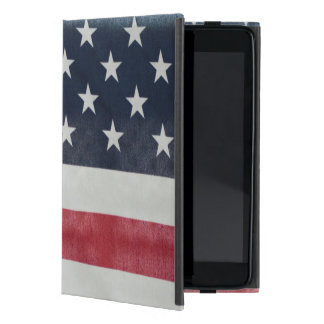 Bandera americana en el condado de Sussex justo iPad Mini Fundas
