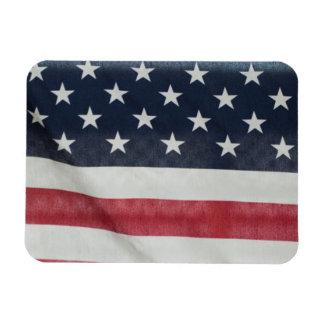 Bandera americana en el condado de Sussex justo Iman Flexible