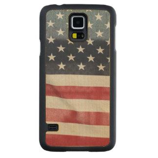 Bandera americana en el condado de Sussex justo Funda De Galaxy S5 Slim Arce