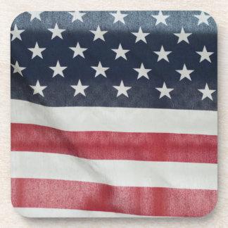 Bandera americana en el condado de Sussex justo Posavaso