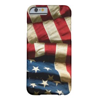 Bandera americana en iPhone 6 ID™ Funda De iPhone 6 Barely There