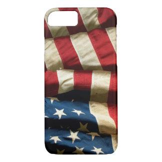 Bandera americana en iPhone 7 ID™ Funda iPhone 7