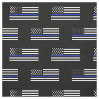 Bandera americana fina de Blue Line Telas
