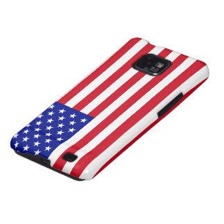 Bandera americana galaxy s2 funda