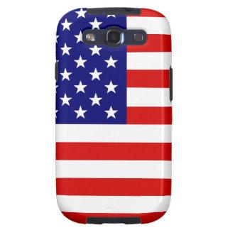 Bandera americana galaxy s3 cárcasa
