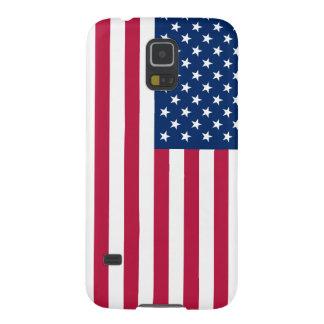 Bandera americana carcasa de galaxy s5