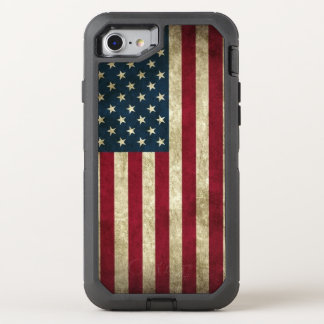 Bandera americana funda OtterBox defender para iPhone 7