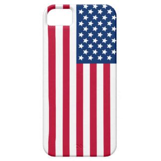 Bandera americana funda para iPhone 5 barely there