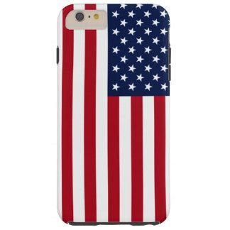 Bandera americana funda resistente iPhone 6 plus
