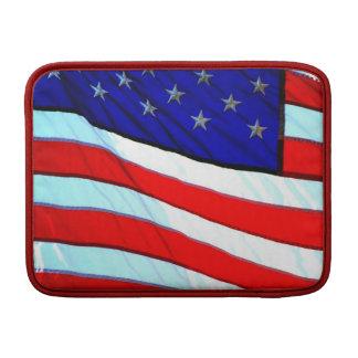 Bandera americana fundas MacBook