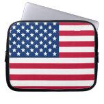 Bandera americana fundas portátiles