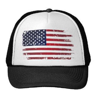 Bandera americana gorro de camionero