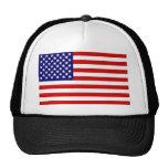 Bandera americana gorros bordados