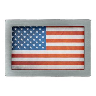 Bandera americana hebilla cinturón