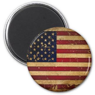 Bandera americana iman de frigorífico