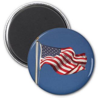 Bandera americana iman