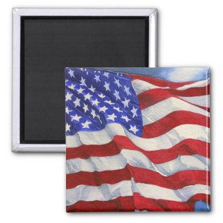Bandera americana - imán