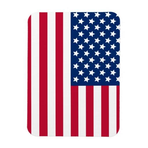 Bandera americana iman flexible