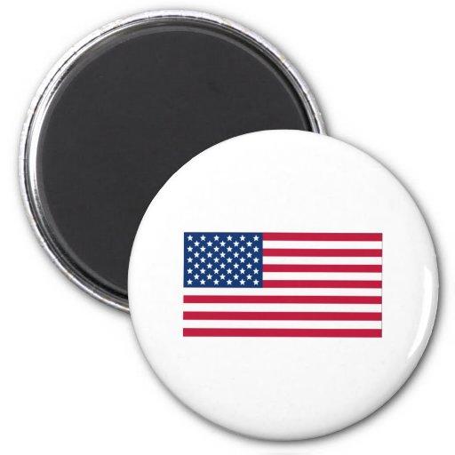Bandera americana imán para frigorifico